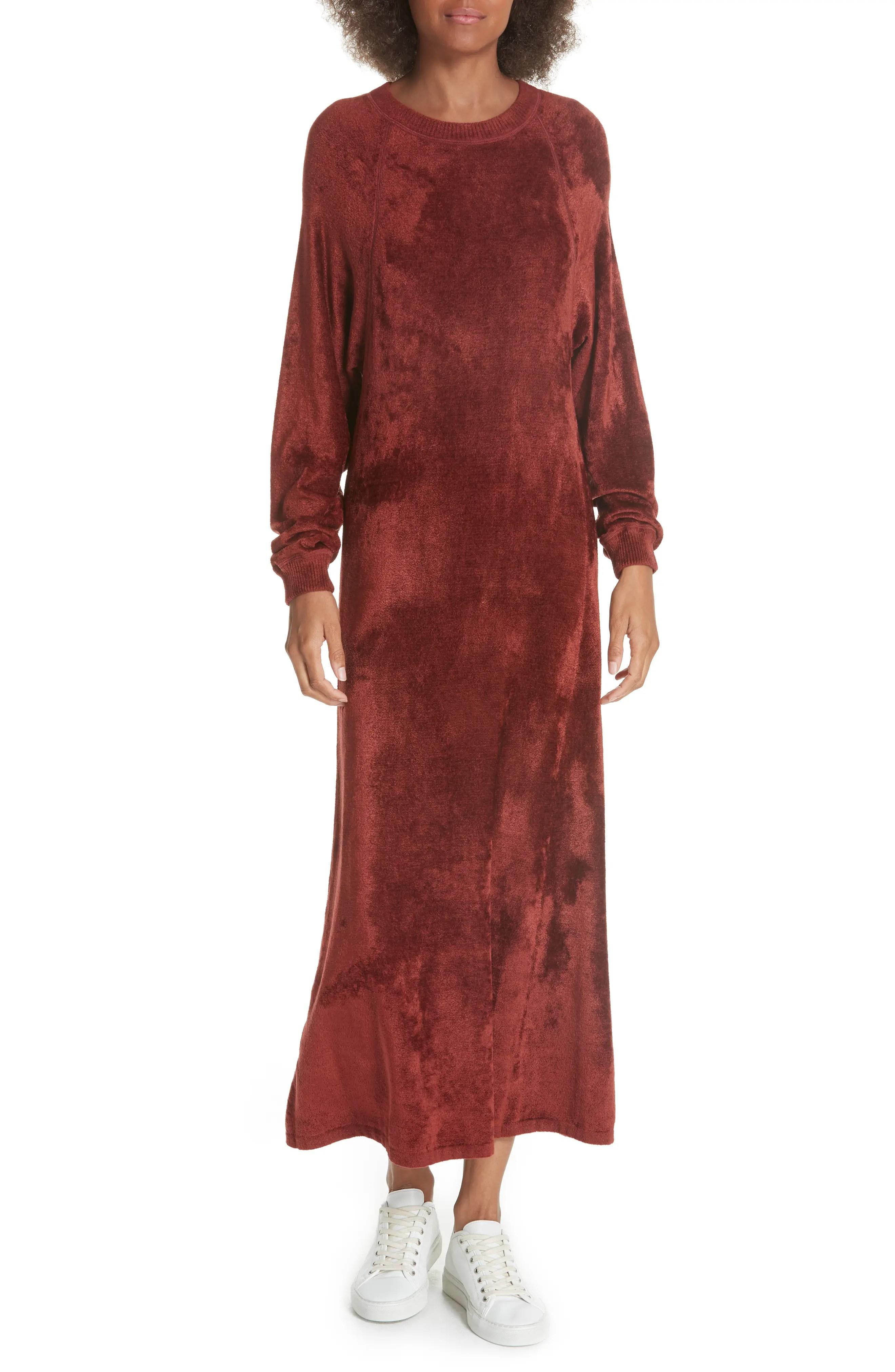 Elizabeth and james lafayette velvet sweatshirt dress also clothing nordstrom rh shoprdstrom