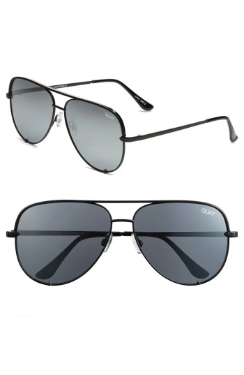Main Image - Quay Australia x Desi Perkins 'High Key' 62mm Aviator Sunglasses