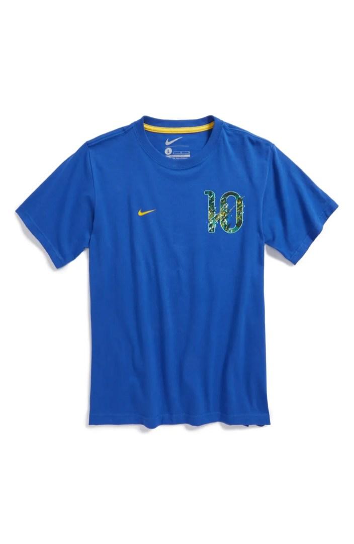 Nike Neymar Jr 10 Brasil Graphic T Shirt Jersey Big