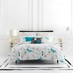 Kate Spade Kitchen Damascus Knives New York Trellis Bloom Comforter & Sham Set ...