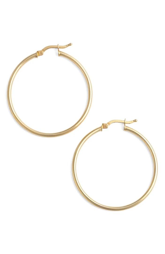 Bony Levy 14k Gold Hoop Earrings (Nordstrom Exclusive