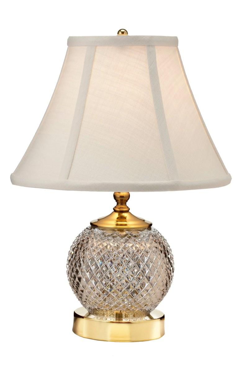 Alana Lead Crystal Mini Table Lamp