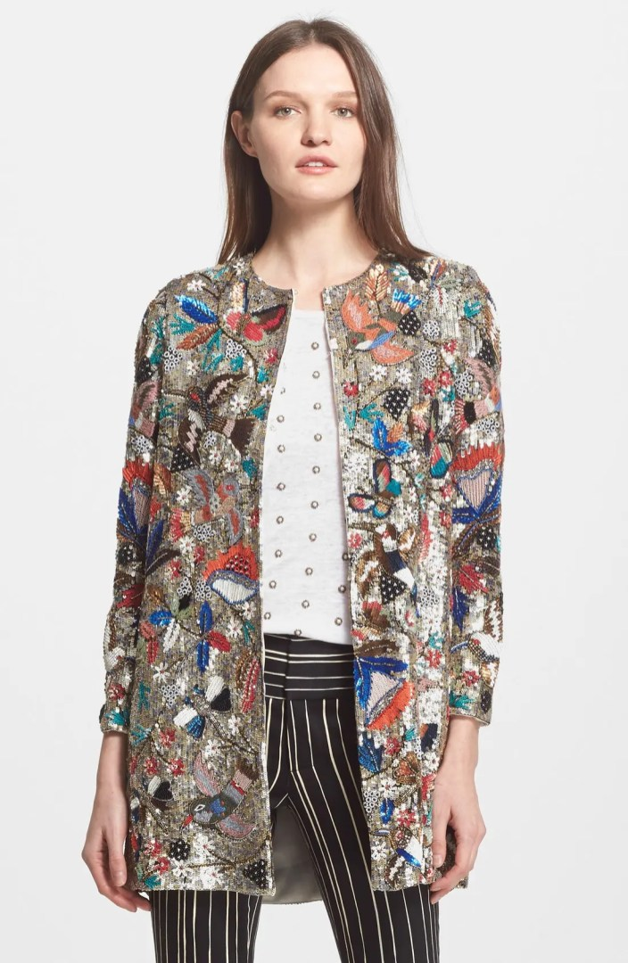 Alice  Olivia Rory Sequin Jacket  Nordstrom