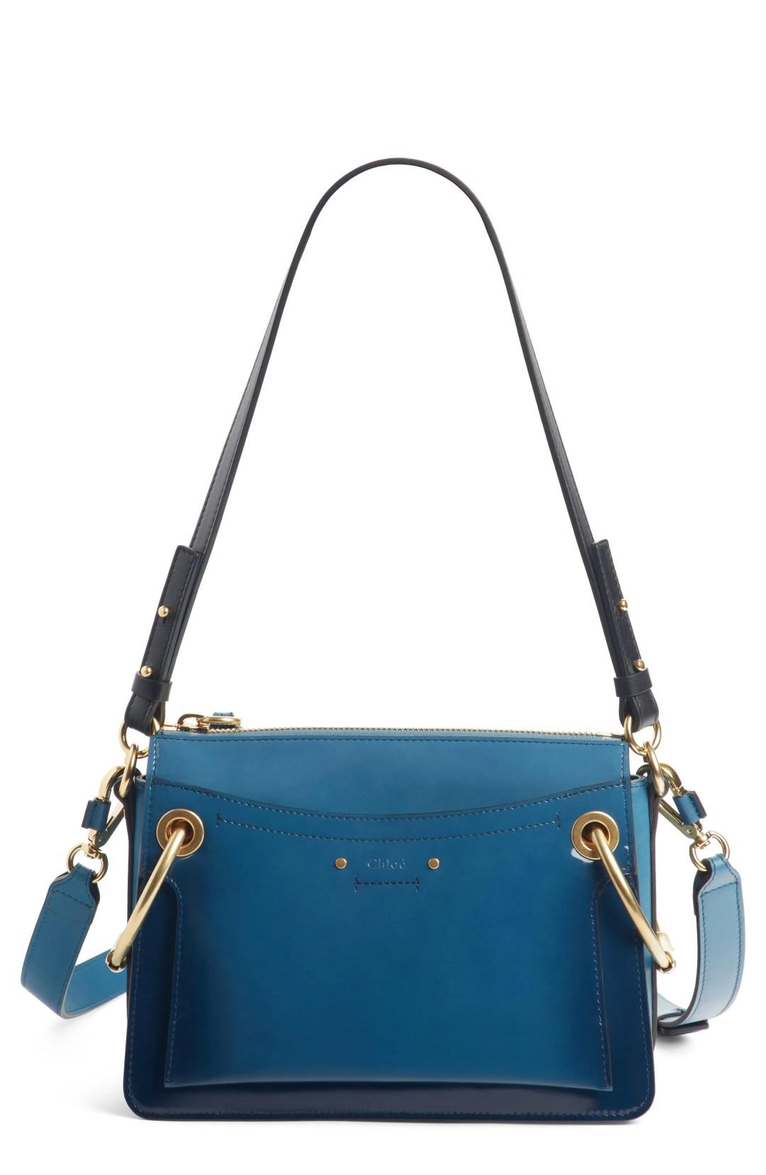 ffd4d726803 Chloé Large Roy Leather Shoulder Bag