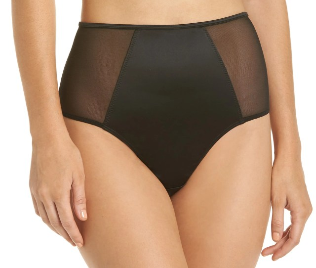 Halogen Luster High Waist Panties