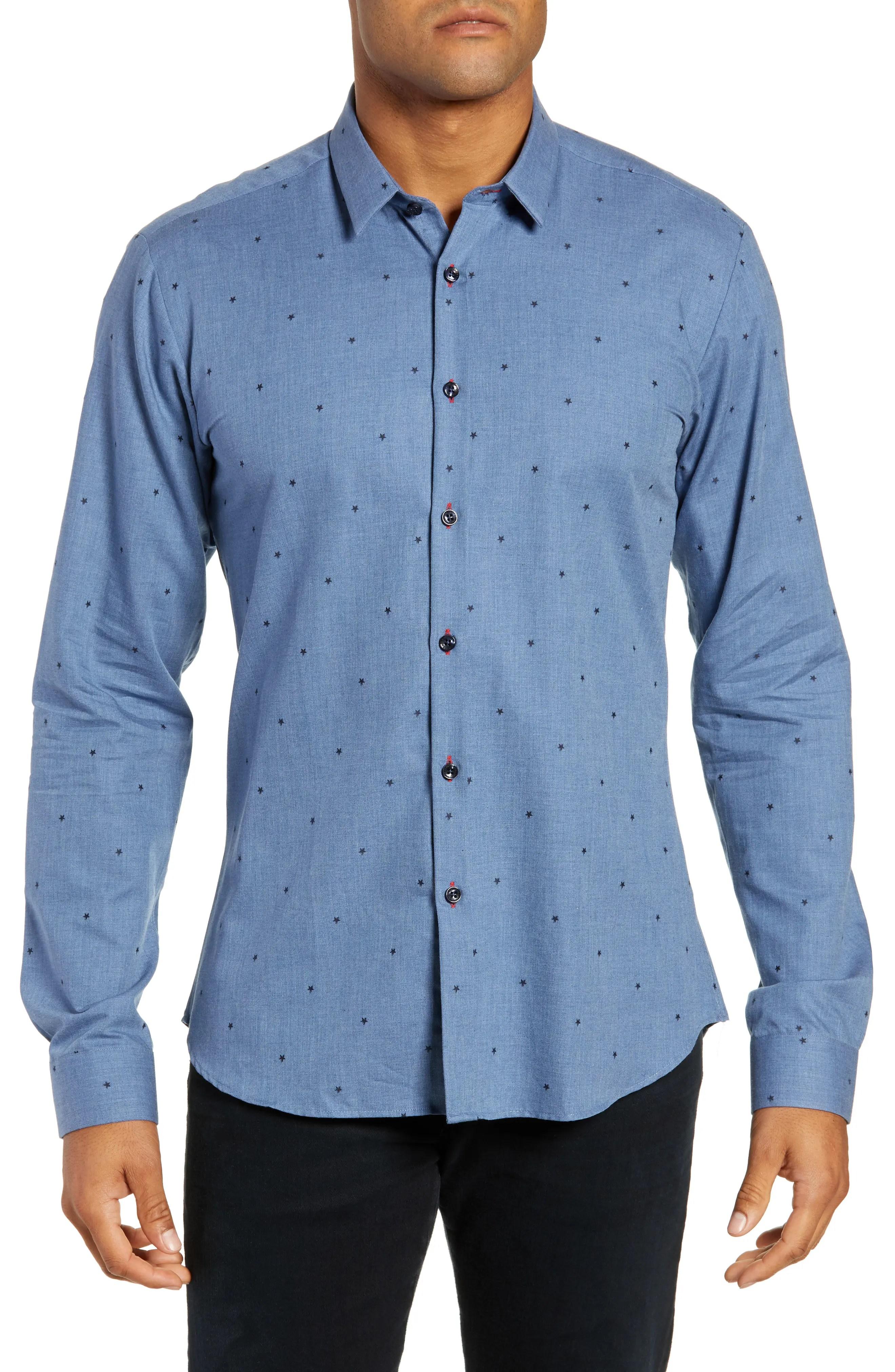 Jared lang trim fit sport shirt also men   shirts nordstrom rh shoprdstrom