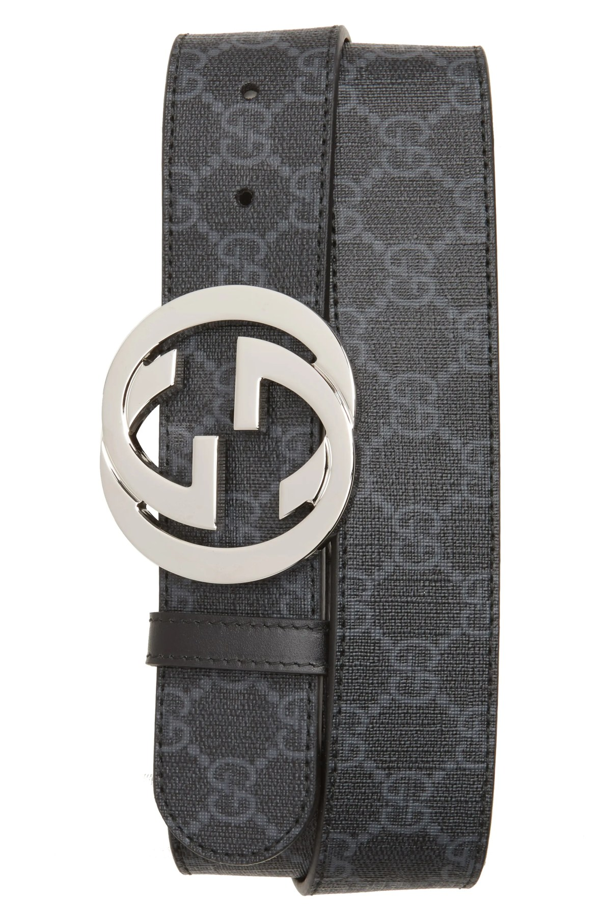 Gucci Logo Buckle Interlocking Belt