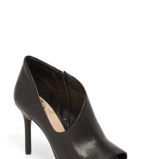 Careeta Pump, Main, color, Black Leather