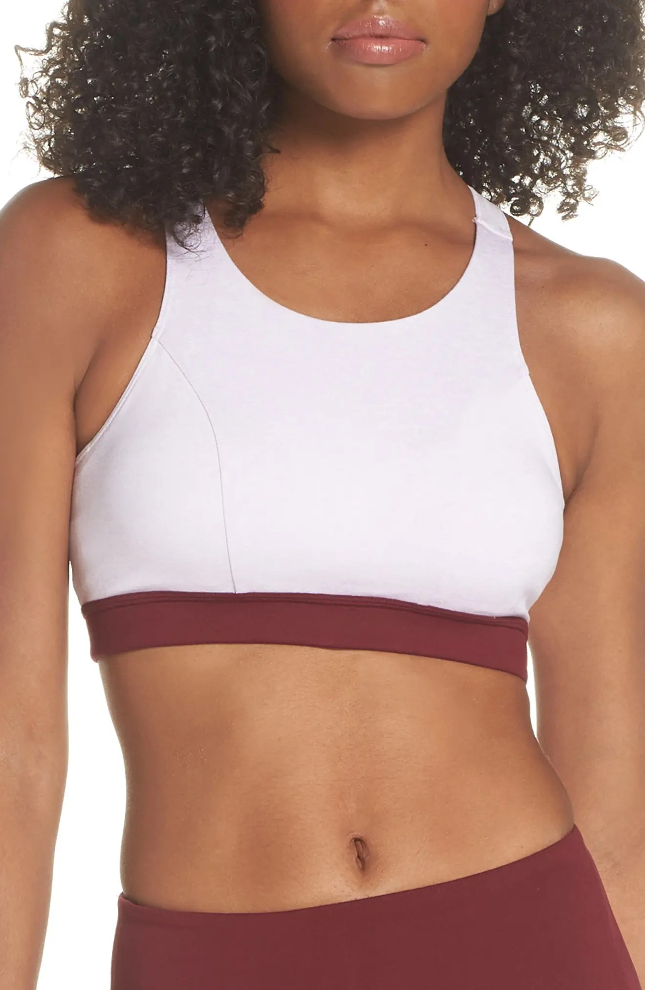 Zella sheer drama sports bra also women   bras nordstrom rh shoprdstrom