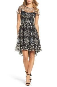 Adrianna Papell Ethereal Fit & Flare Dress (Regular