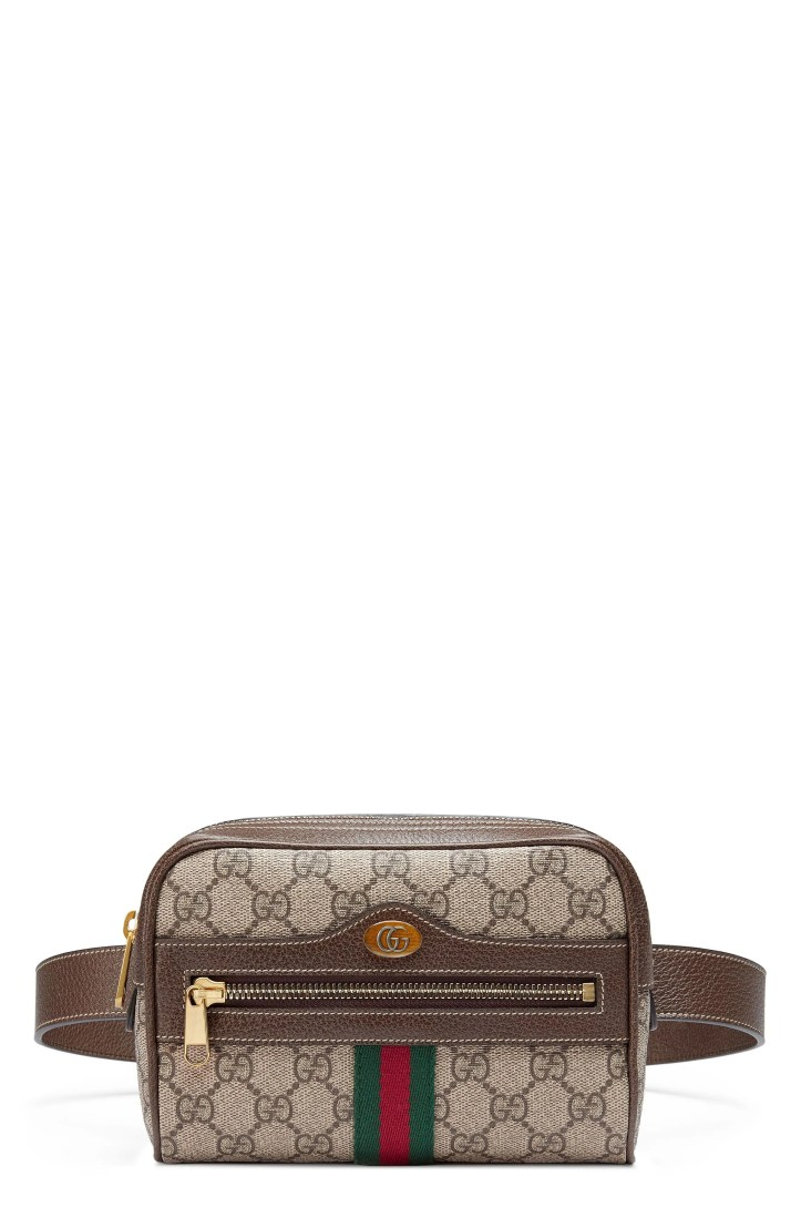Gucci Small Ophidia GG Supreme Canvas Belt Bag