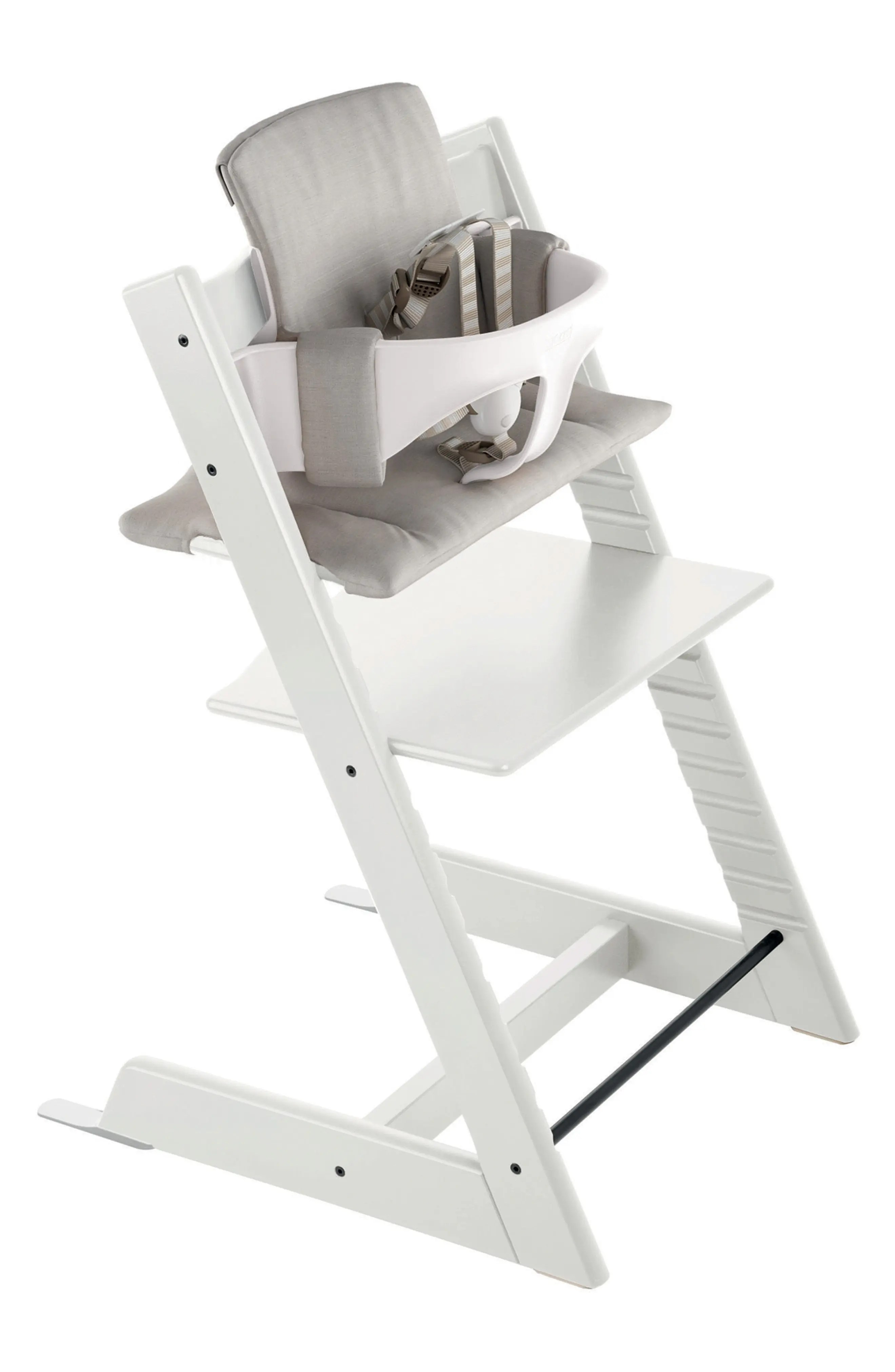 stokke high chair public relations chairs covers booster seats for tables nordstrom tripp trapp baby set cushion tray exclusive