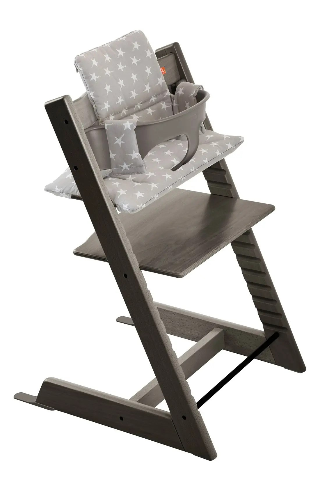 stokke high chair tray metal chairs vine 'tripp trapp®' chair, baby set, cushion & set (nordstrom exclusive) | nordstrom