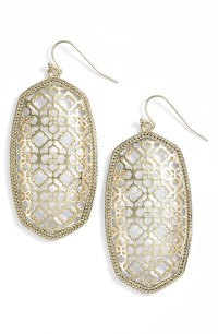 Kendra Scott Danielle Large Openwork Statement Earrings ...