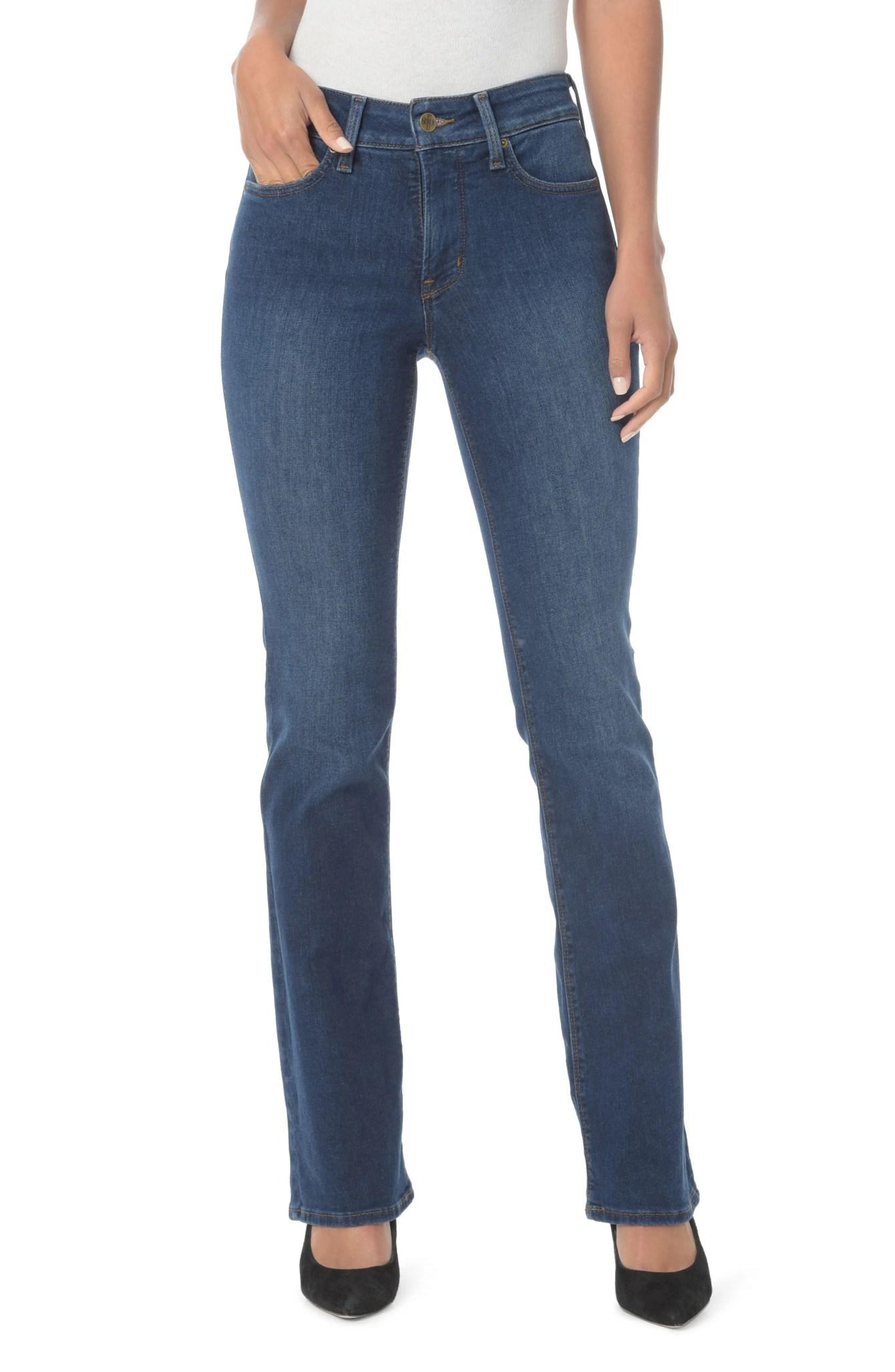 NYDJ Petite Barbara High Waist Stretch Bootcut Jeans (Nordstrom) $109