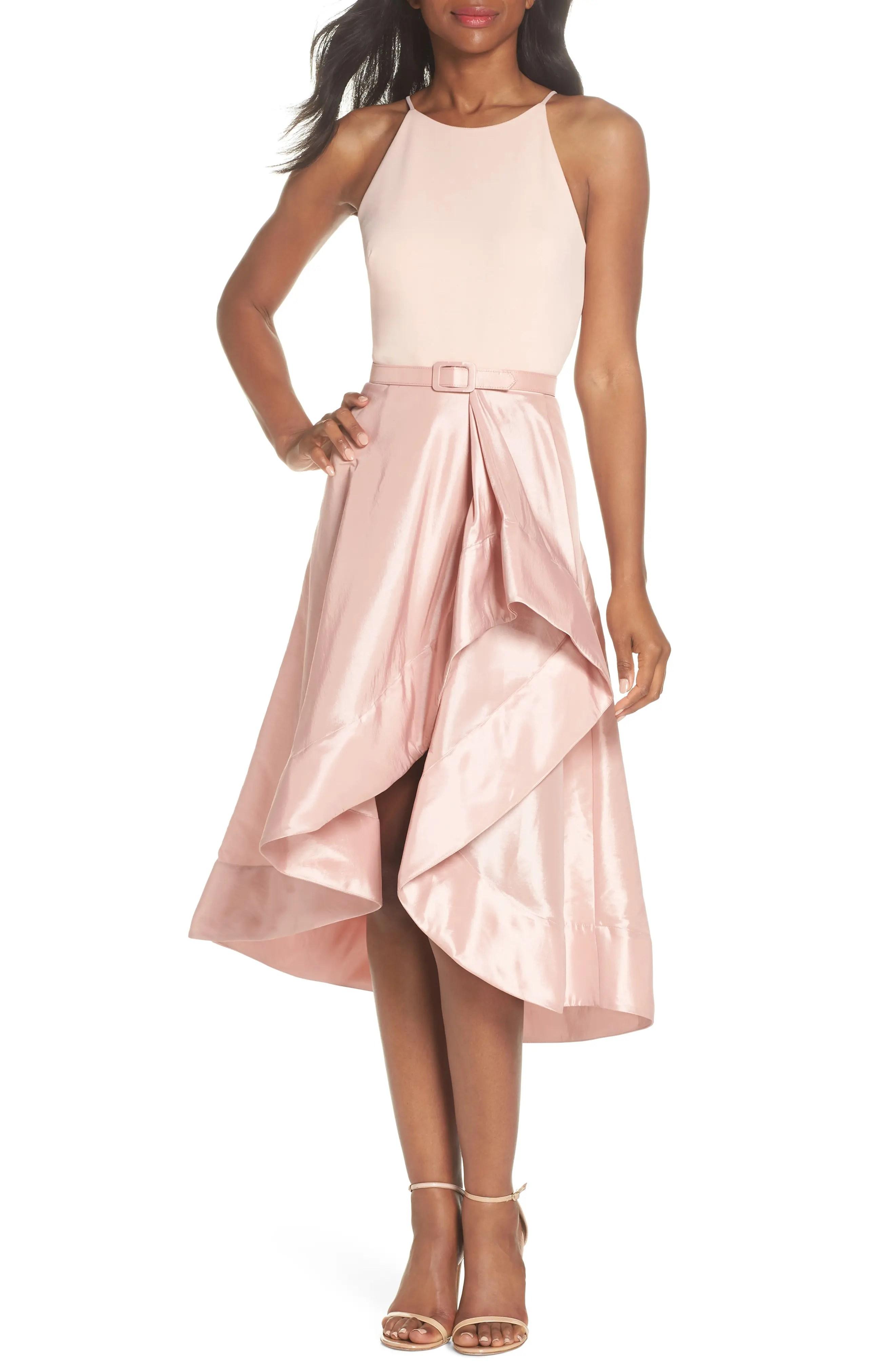 Eliza  asymmetrical tea length dress regular  petite also women  dresses nordstrom rh shoprdstrom