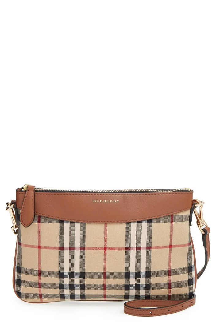Burberry Peyton Horseferry Check Crossbody Bag Nordstrom