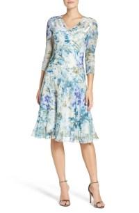 Komarov Chiffon A-Line Dress (Regular & Petite) | Nordstrom