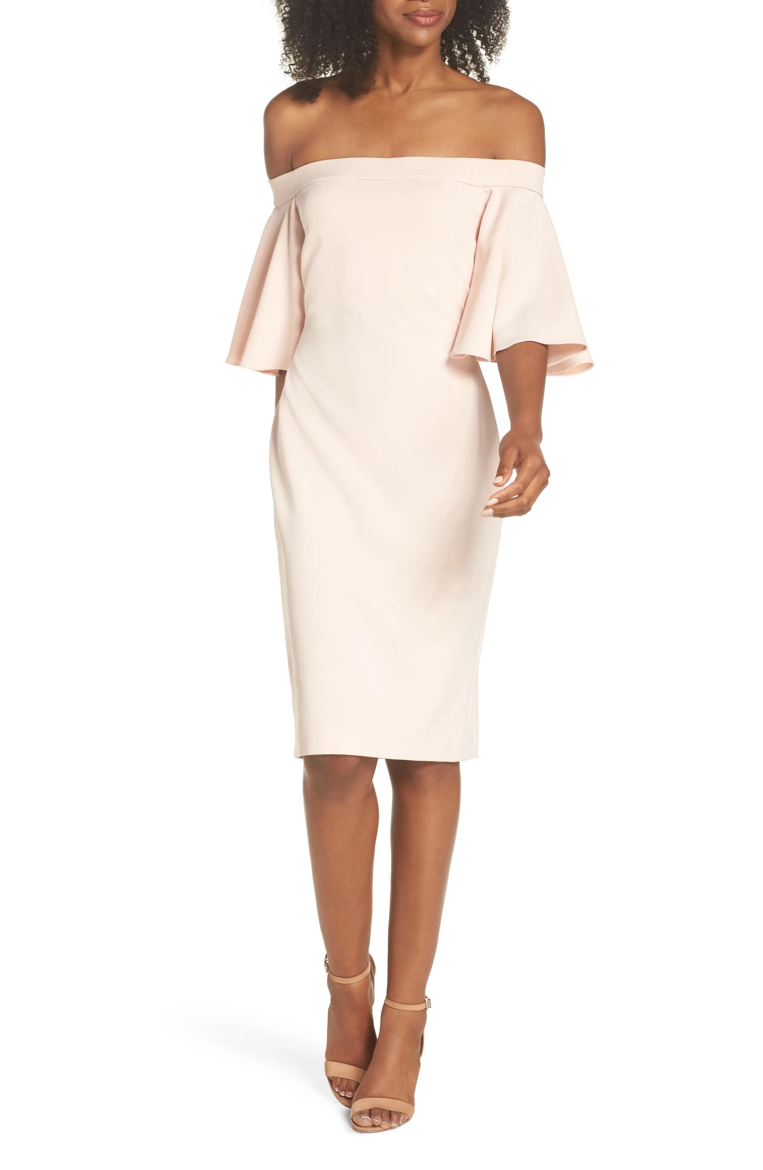 Eliza  off the shoulder sheath dress also women   dresses nordstrom rh shoprdstrom