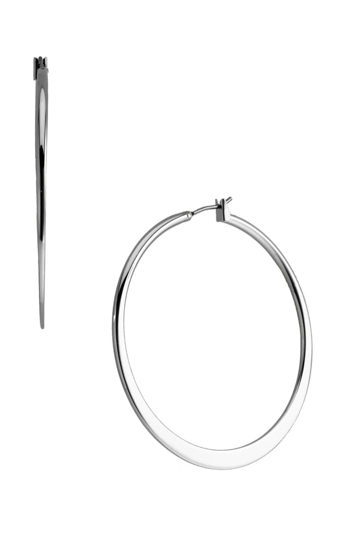 Nordstrom Tapered Hoop Earrings