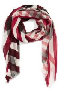 Burberry Stripe & Check Scarf | Nordstrom