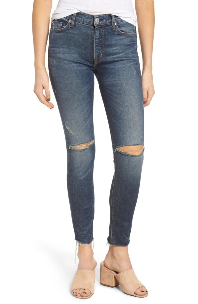 Main Image - Hudson Jeans Barbara High Waist Skinny Jeans (Nowhere Girl)