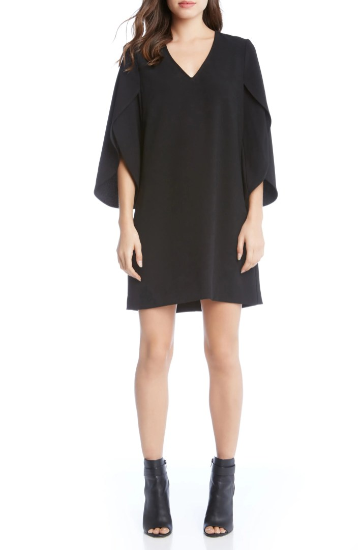 Karen Kane Split Sleeve Shift Dress  Nordstrom