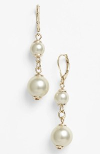 Nordstrom Faux Pearl Drop Earrings