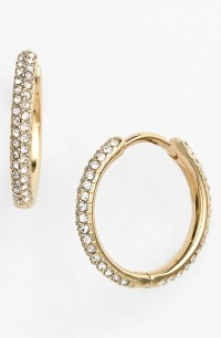 Nadri Small Pav Hoop Earrings (Nordstrom Exclusive