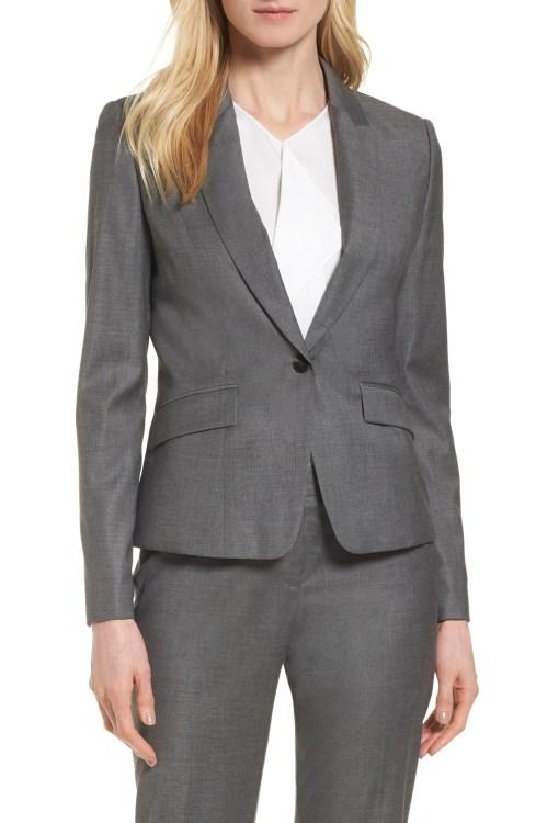 Main Image - BOSS Janore Wool Blend Suit Jacket