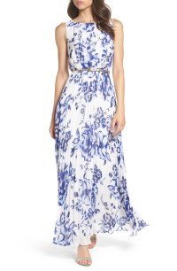 Eliza J Chiffon Maxi Dress (Regular & Petite) | Nordstrom