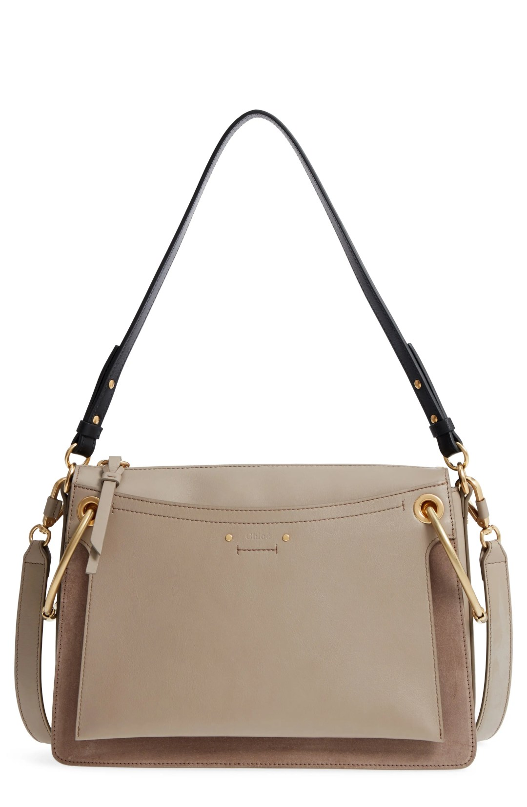 70ee7fca88a Chloé Small Roy Leather Shoulder Bag