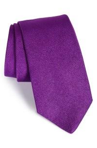 Gitman Solid Silk Tie   Nordstrom