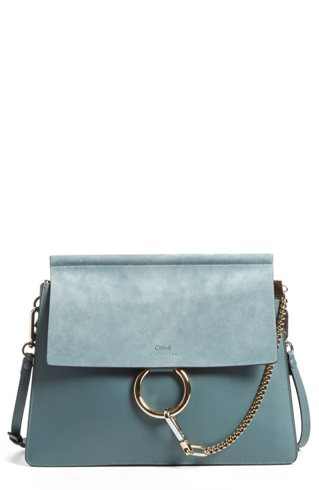 Chloé Faye Suede   Leather Shoulder Bag 943b828f700d8