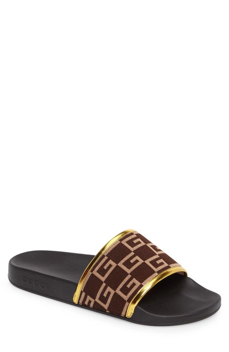 Gucci Pursuit Slide Sandal (Men)