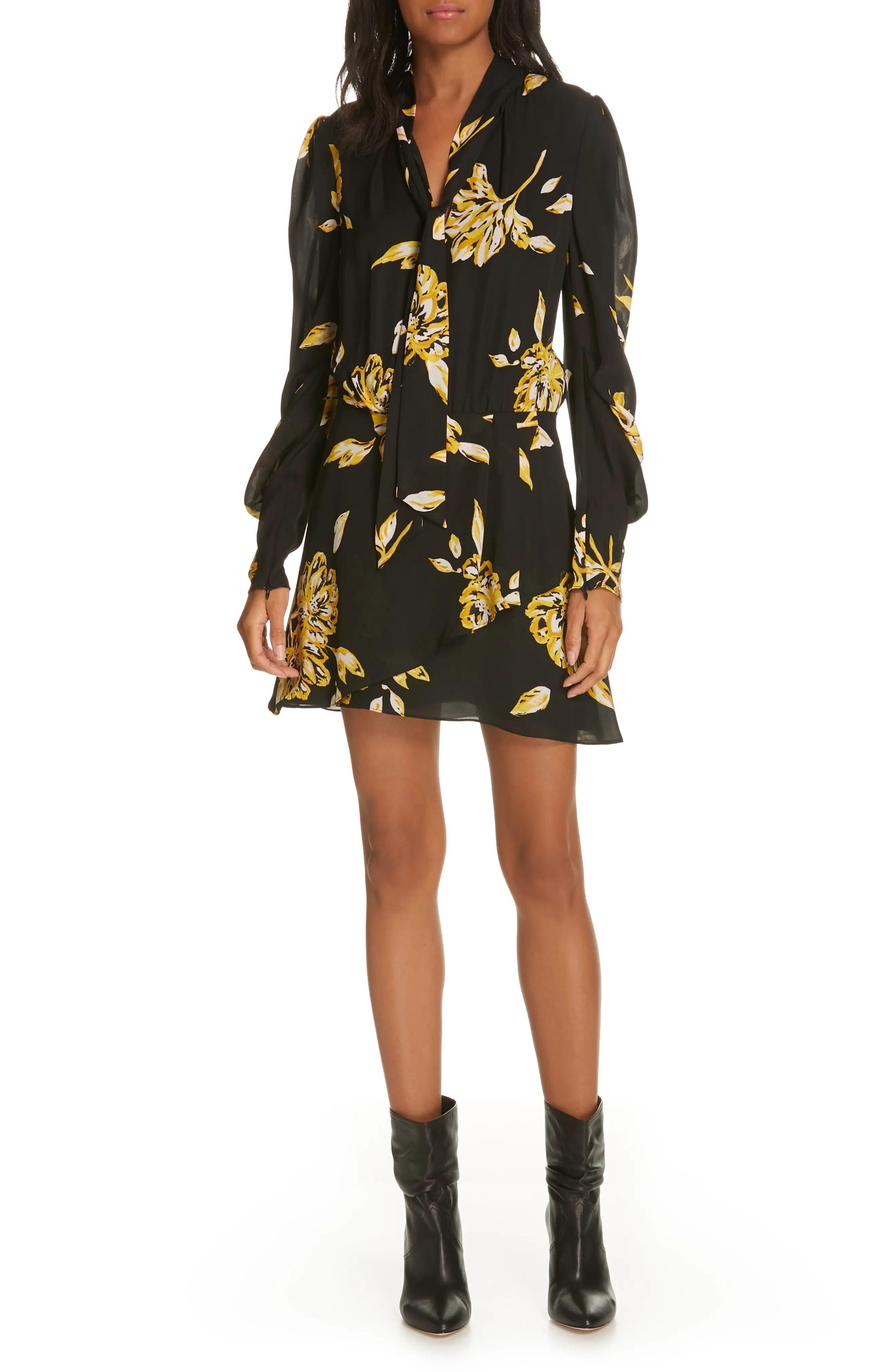 Joie gyan floral silk dress also clothing nordstrom rh shoprdstrom