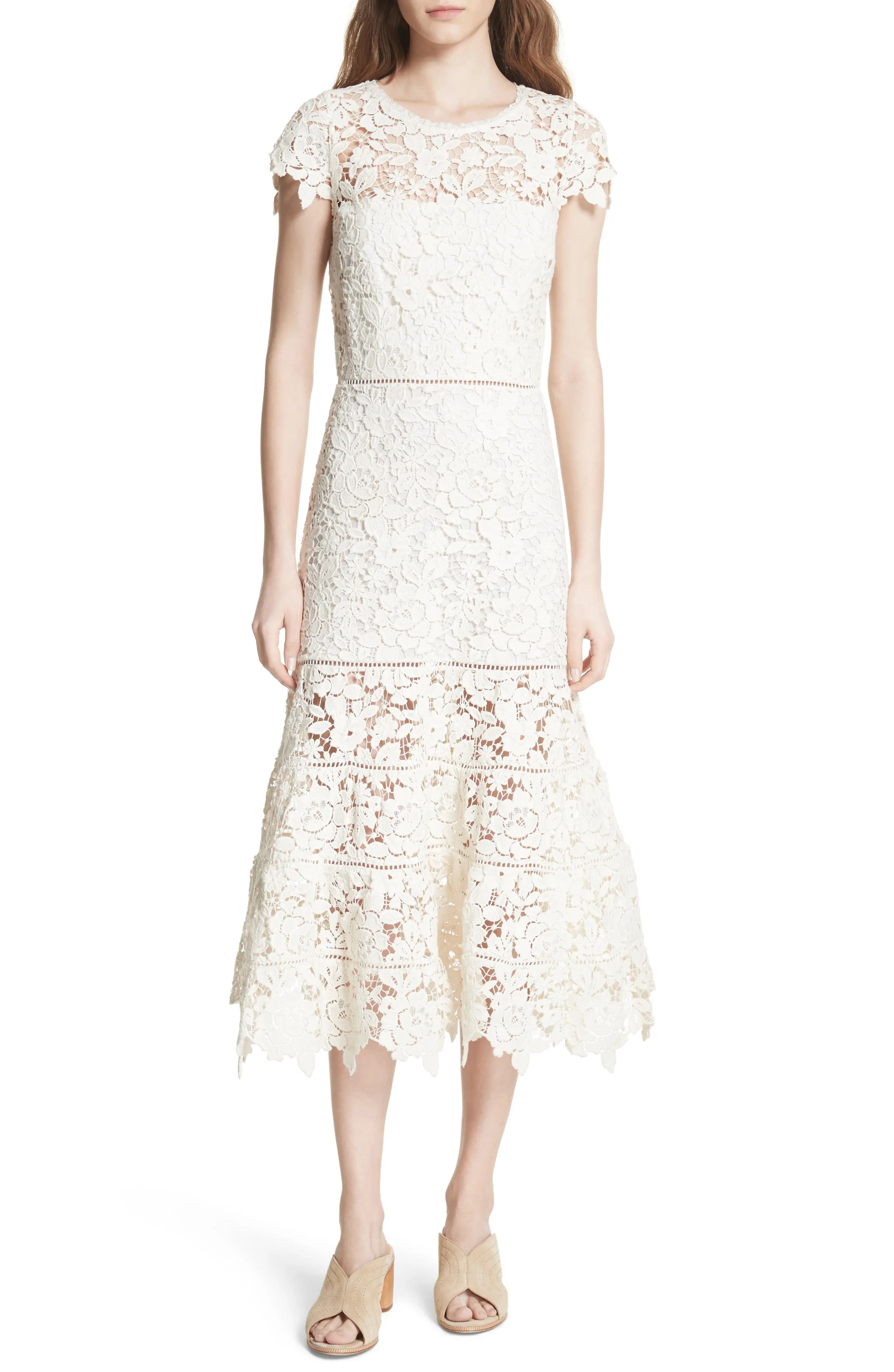 Joie celedonia scallop lace dress also clothing nordstrom rh shoprdstrom