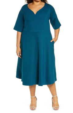 plus size dresses nordstrom