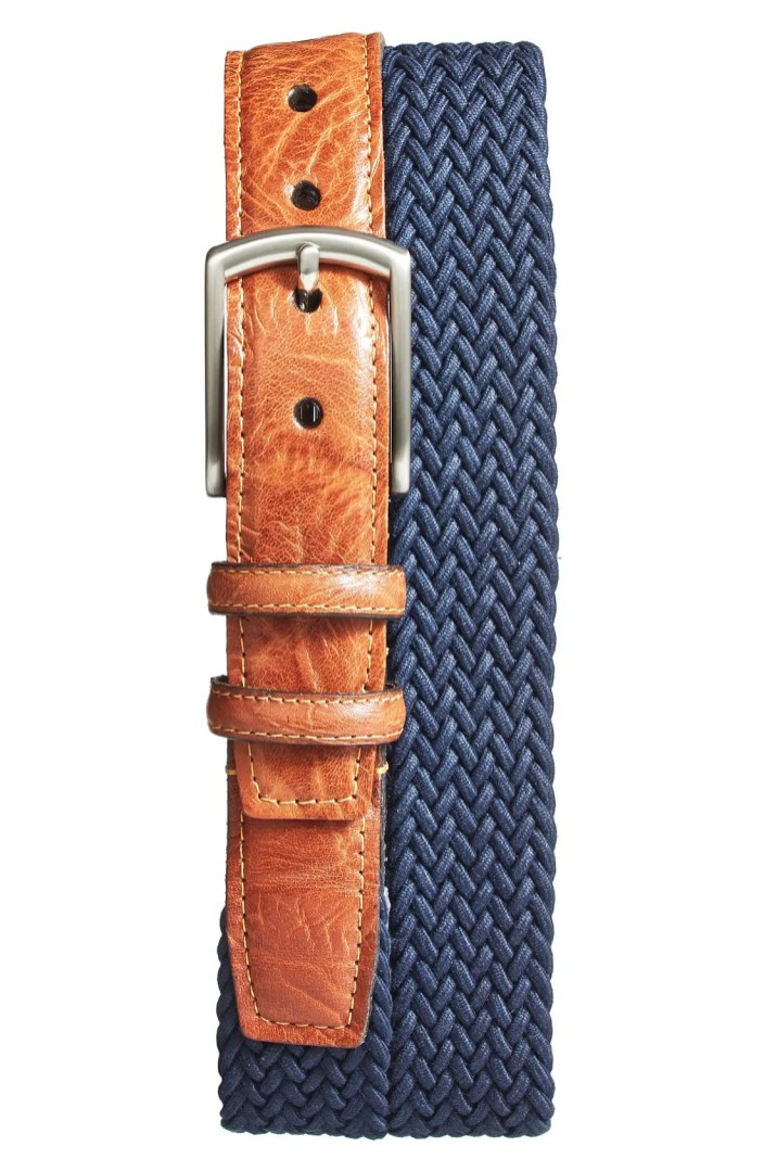 Torino Belts Braided Stretch Cotton Belt  Nordstrom