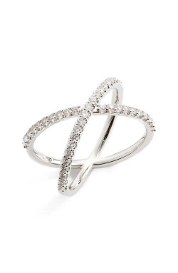 Main Image - Nadri Crossover Cubic Zirconia Ring
