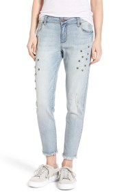 Main Image - STS Blue Taylor Star Studded Ankle Jeans (Eden Field)