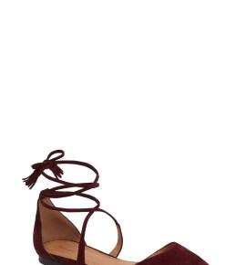 Main Image - Halogen® Oliver Ankle Wrap Flat (Women)