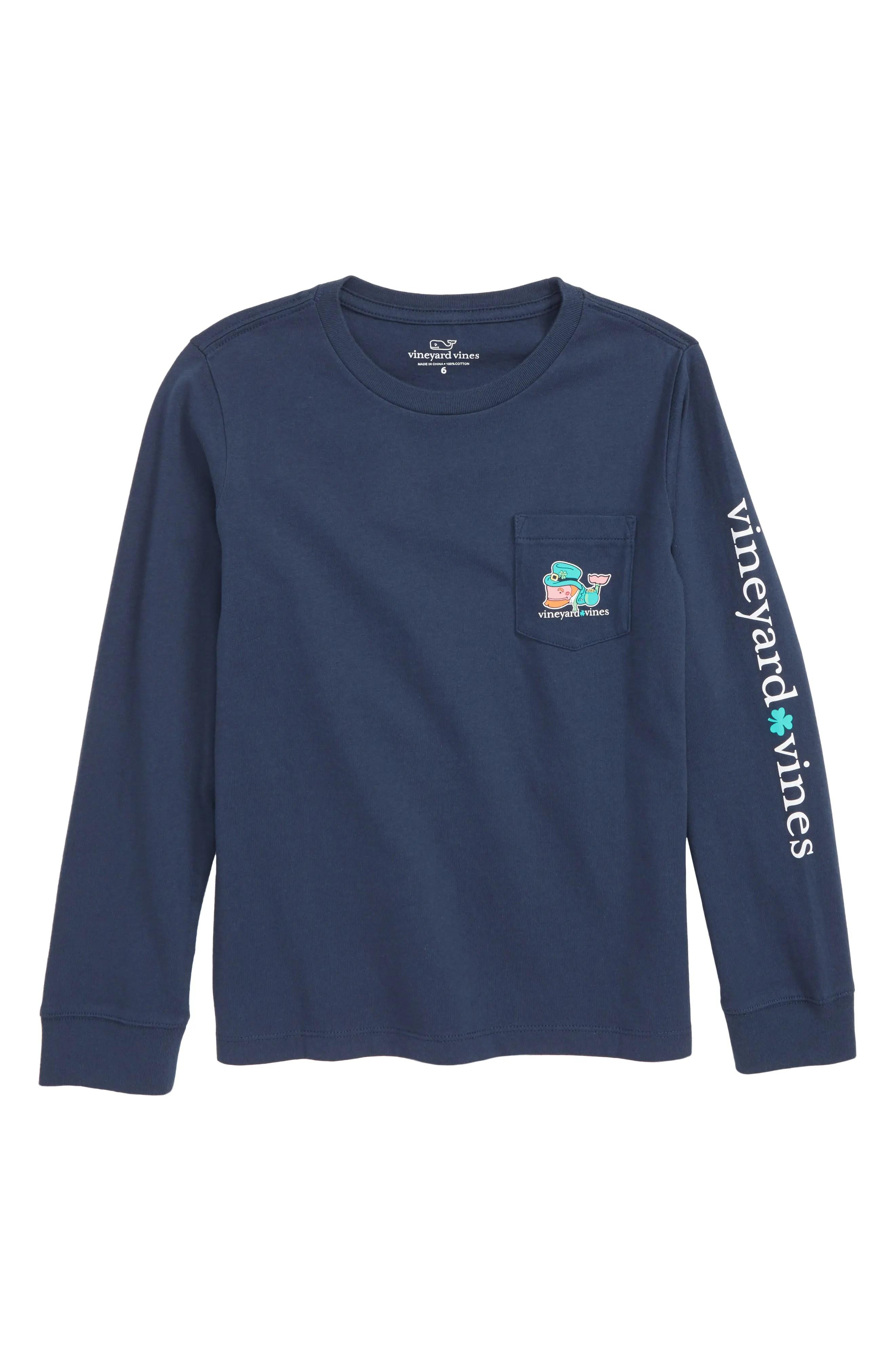 Vineyard vines kiss me    irish pocket  shirt big boys also kids apparel shirts jeans pants hoodies rh shoprdstrom