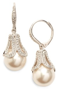 Nadri Imitation Pearl Drop Earrings | Nordstrom