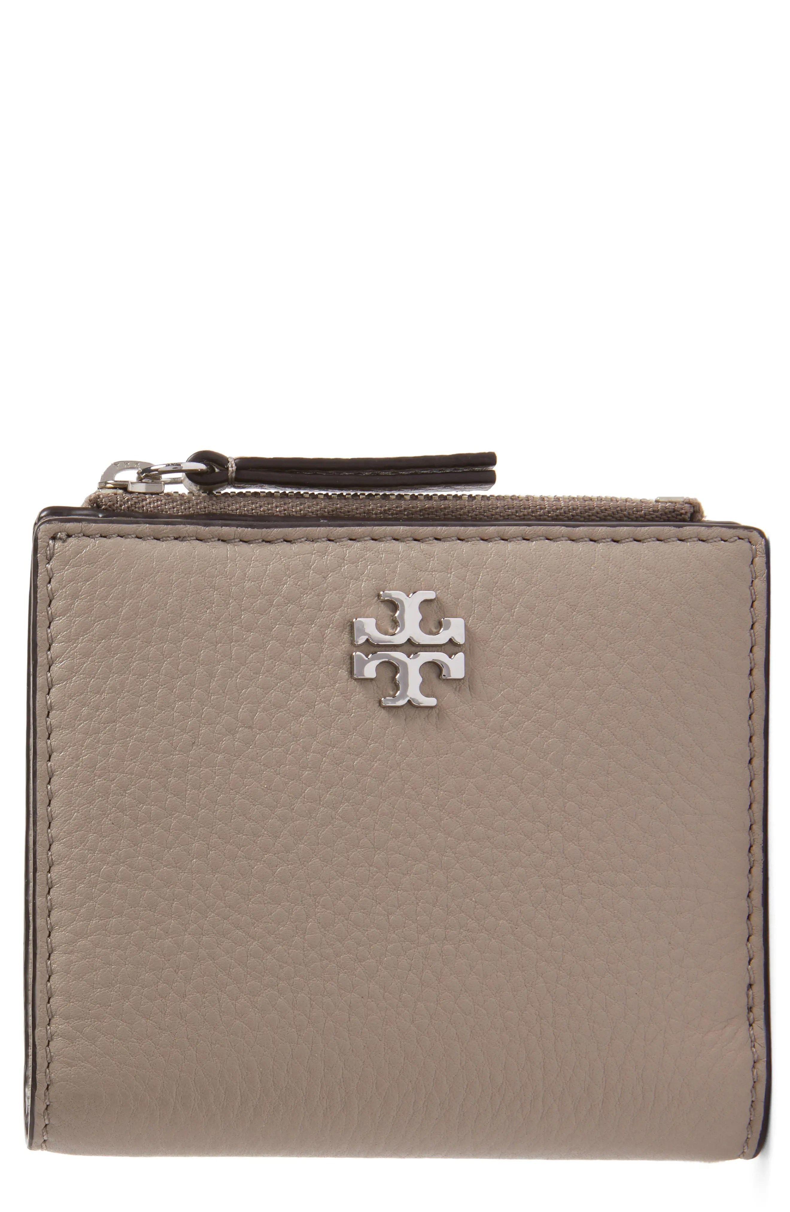 Main Image - Tory Burch Mini Frida Leather Wallet (Nordstrom Exclusive)