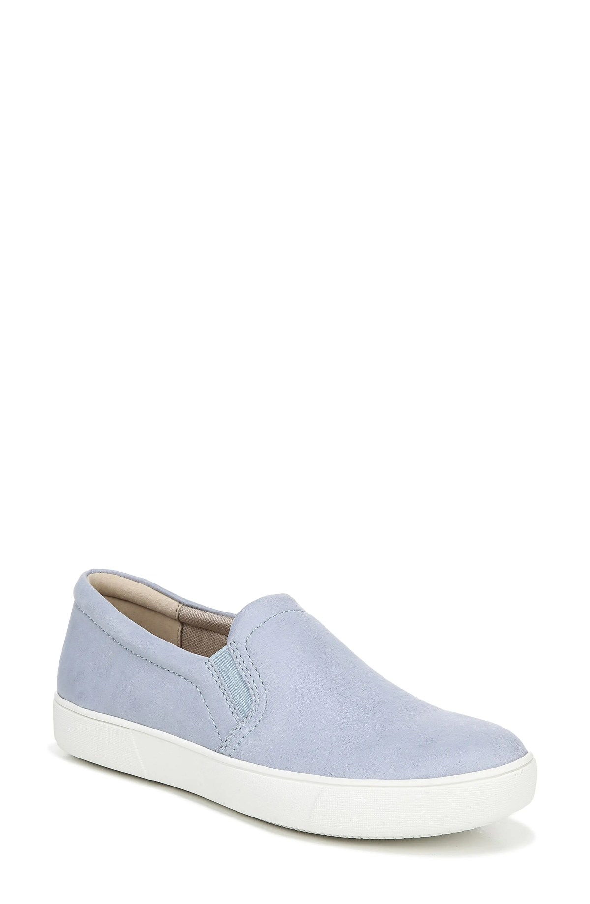 NATURALIZER Marianne Slip-On Sneaker, Main, color, HARBOR MIST LEATHER