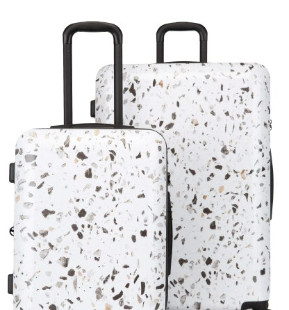 Terrazo 30-Inch & 22-Inch Hardshell Spinner Suitcase & Carry-On Set,                         Main,                         color, EARTH-MULTI