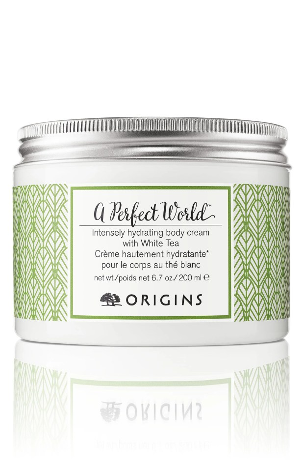ORIGINS A Perfect World<sup>™</sup> Intensely Hydrating Body Cream with White Tea, Main, color, NO COLOR