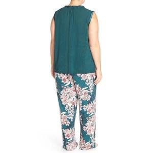 06b6f89a8 Sleek Midnight By Carole Hochman Sleeveless Stretch Modal Pajamas Midnight  By Carole Hochman Sleeveless Stretch Modal