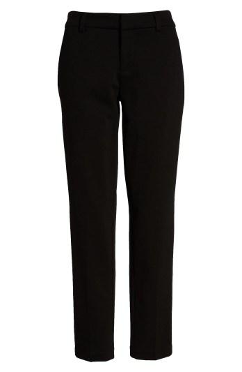 Kelsey Knit Trousers,                         Alternate,                         color, BLACK